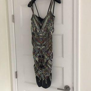 Patterned short dress!